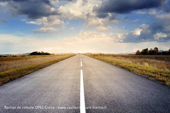 Reprise auto Corse Opel
